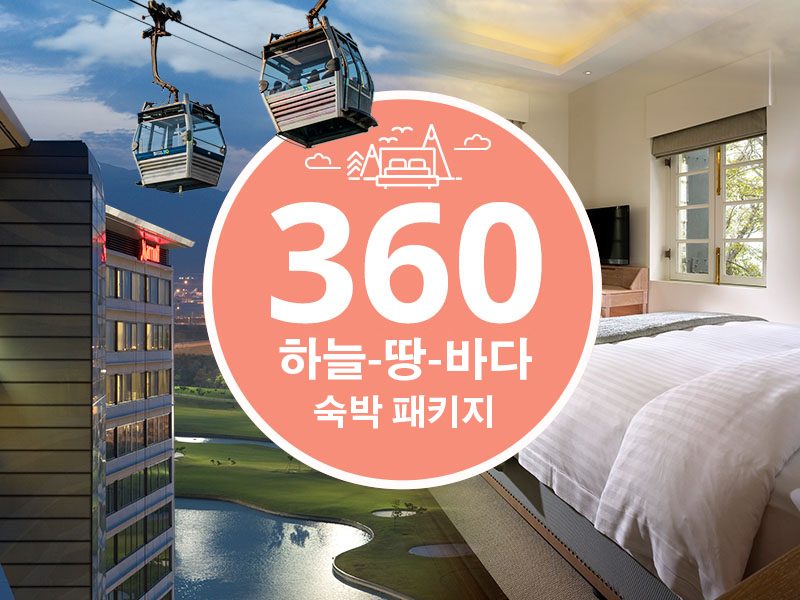 360 Sky-Land-Sea Overnight Package