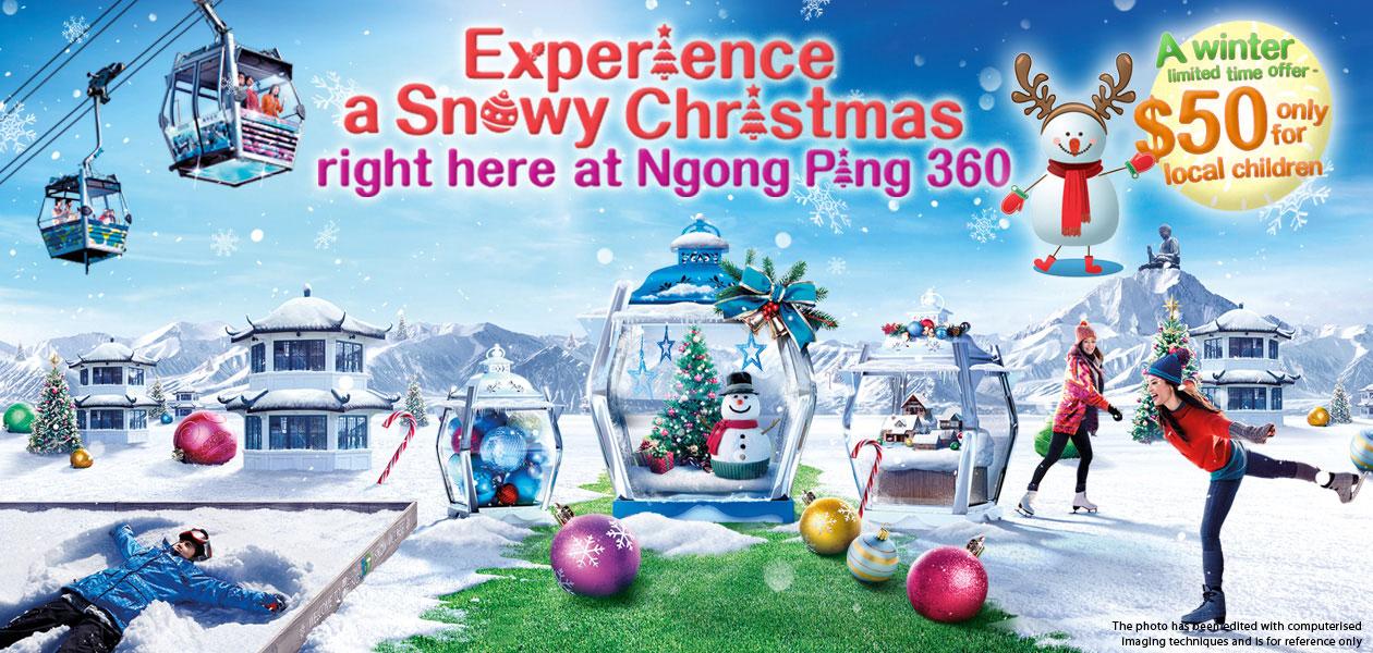 Experience A Snowy Christmas At Ngong Ping 360